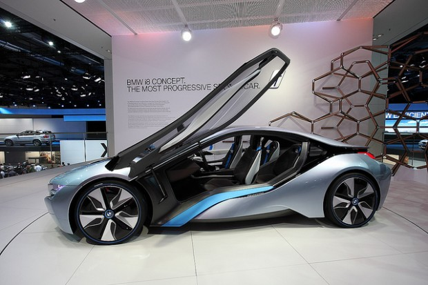 BMW i8: The Worlds Future Hybrid and Progressive Sportcar