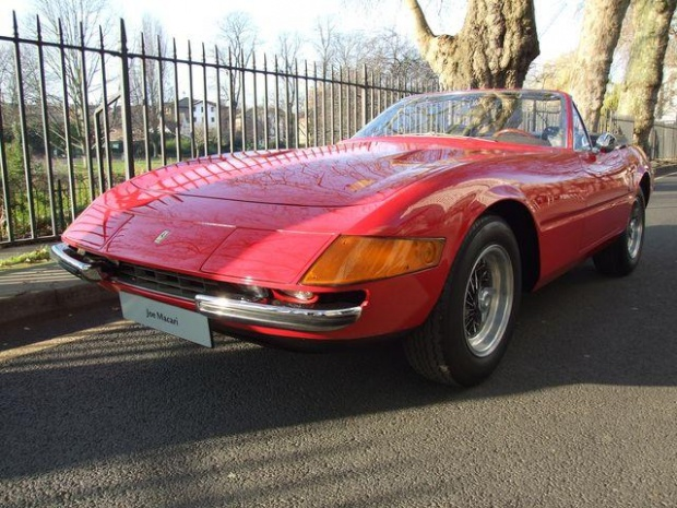 Ferrari Daytona Spyder 4.4, 1971, For Sale