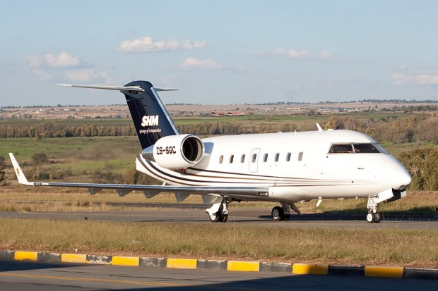 Private Jet Charter MidSize Bombardier Challenger 601