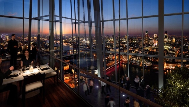 Oblix Restaurant At The Shard A Creation Of Zuma Owners