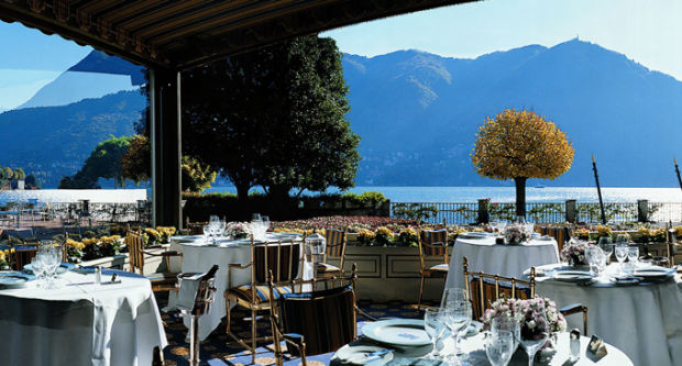 La veranda villa d 39 este lake como for Villa d este como ristorante