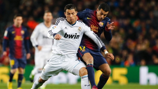 Real Madrid v Barcelona, 23 Mar 2014